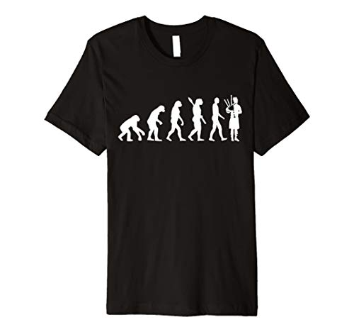 Evolution Dudelsack T-Shirt