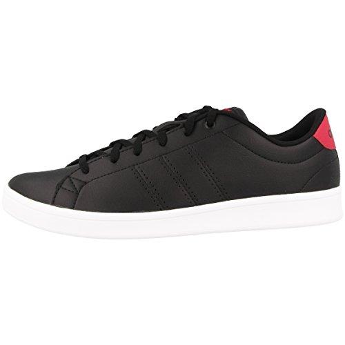 adidas Advantage Cl QT W, Scarpe da Fitness Donna, Nero (Negbas/Negbas/Rosene 000), 44 EU
