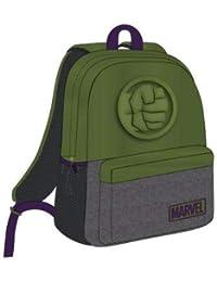 Mochila Escolar Instituto Avengers Hulk