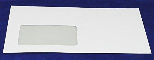 dots Briefumschläge DIN lang weiß Haftverschluss mit Fenster - 250 Stück