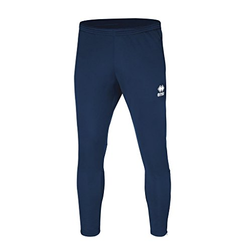 Key Bestseller Training Trousers (Long) with Narrow Leg (Slim Tapered) and Zip; Unisex Slim Fit Zip Erreà Sport Pant (Fit 3) Polyester for Individual & Team Sports