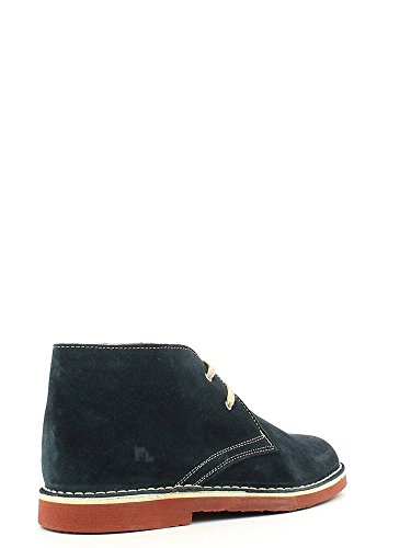 Scarpe Lumberjack Gable per uomo in camoscio blue scuro e ruggine Navy Blue/Brick