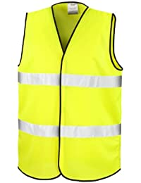 Result Core Unisex Adults Motorist Hi Viz Safety Vest Fluorescent S M a8b6ec78089