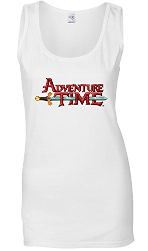 Adventure Time Logo Canotta delle donne T-Shirt XX-Large