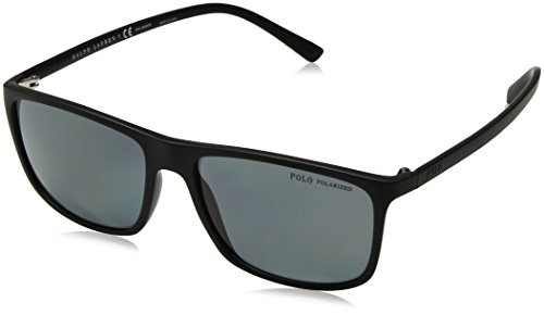 Polo Ralph Lauren 0PH41150881 Montures de lunettes, Noir (Matte Black/Polardarkgrey), 57 Homme