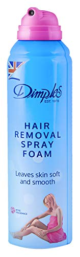 Dimples Hair Remover Spray Foam Rose 200 Ml