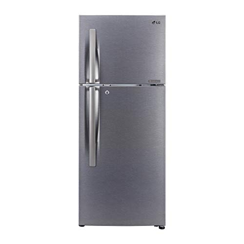 LG 260 L 3 Star Inverter Frost-Free Double-Door Refrigerator (GL-N292RDSY, Multi Air Flow, Dazzle Steel)