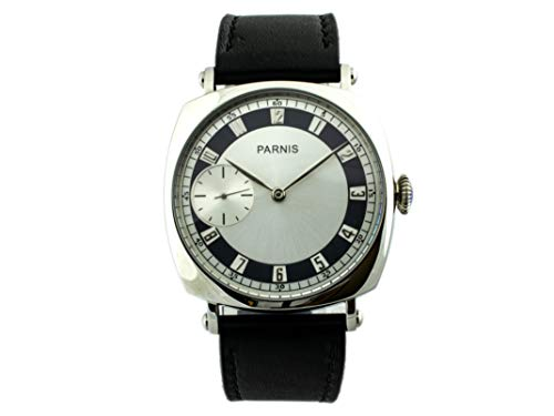 Parnis 44mm Cushion Style Radiomir Homage Retro Handwinding Seagull ST36