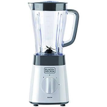 Black+Decker BXJB500E Batidora de vaso, 500 W, 1.5 litros ...