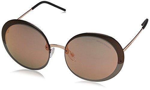 Emporio Armani Damen 0ea2044 Sonnenbrille, Pink Gold, 61