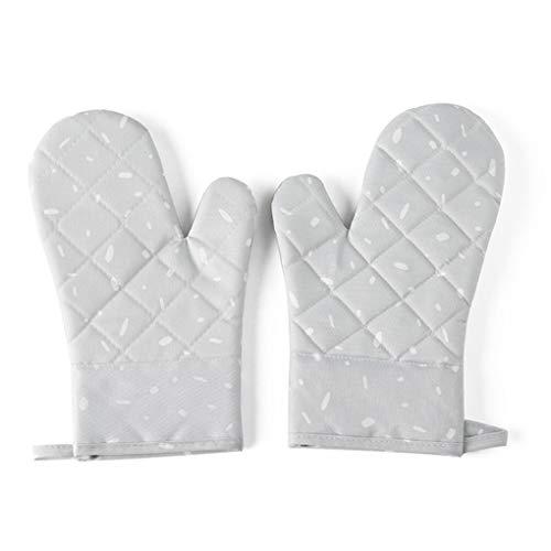 Jinzuke 1 Paar Mikrowelle Glove Grill Ofen Backen Hot Pot Mitts Kochen hitzebeständige Küchen Fäustlinge - Hot Mitt
