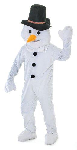 stüm Luxus Erwachsenengröße Winter Verkleidung Weihnachts Spaß (Erwachsenes Schneemann Kostüme)