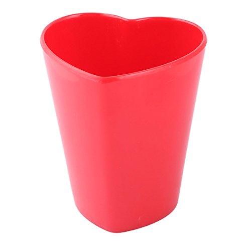 sourcingmap Esszimmer Melamin Herz geformt Kaffee Milch Saft Trinkbecher Becher Rot 300ml