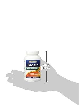 Best Naturals Biotin 10000 mcg 200 Capsules from Best Naturals