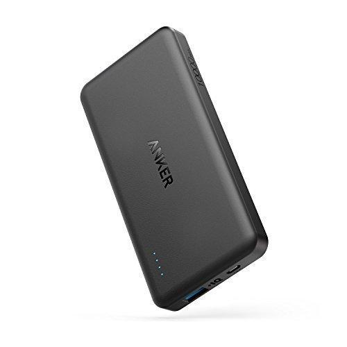 Anker PowerCore II 10000 Ultra Dünne Powerbank für iPhone 7/ Plus/ 6/ 6s/ SE, Samsung Galaxy, Google Pixel, Moto G4 und weitere Geräte