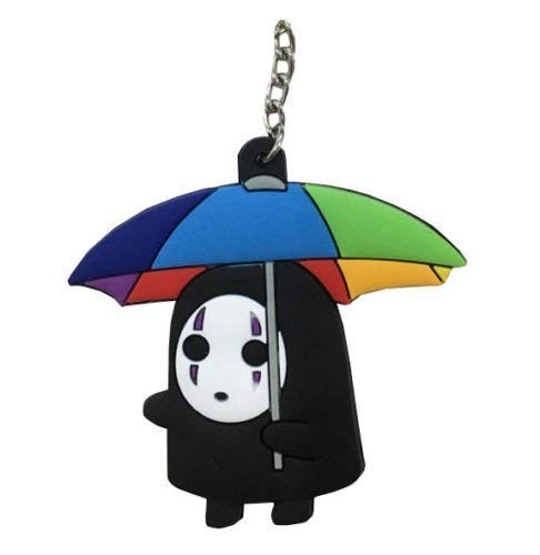 Spirited Away Anime Kaonashi Double Sided Schlüsselanhänger