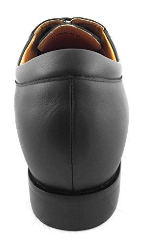 ZERIMAR Scarpe con aumentato interno di + 7 centimetri ¡ATTENZIONE OFFERTA SPECIALE 7,5 ANNIVERSARIO! Scarpe in pelle bovina di alta qualità 100% pelle Colore Marron Marron