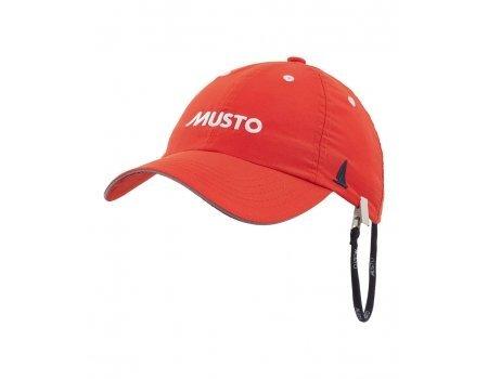 Musto Fast Dry Crew Cap-Mütze in Feuerorange - UV-Sonnenschutz und SPF-Eigenschaften