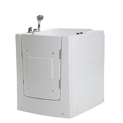 Preisvergleich Produktbild Home Deluxe Vital L Seniorenbadewanne, inkl. Whirlpool und komplettem Zubehör