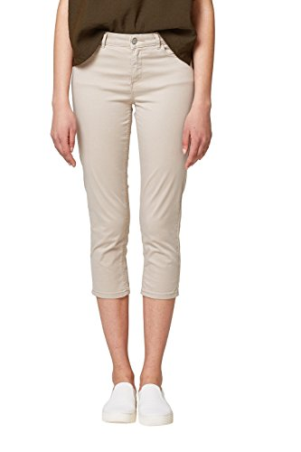 ESPRIT Damen Hose 038EE1B013, Grau (Light Grey 040), 38
