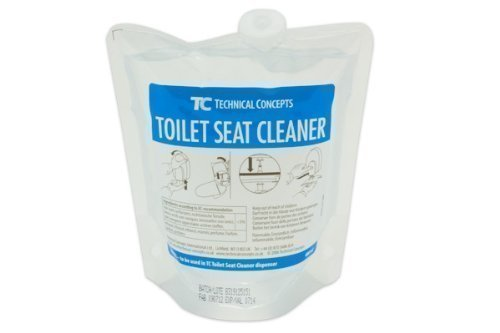 Distributeur des sièges de toilette et / ou sac de recharge nettoyant de toilette (sac de recharge)