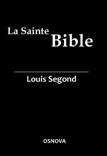 Kindle French Bible – La Sainte Bible (Louis Segond with DVJ)