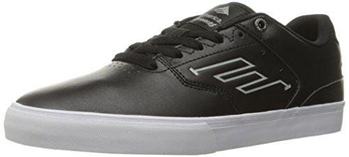 Herren Skateschuh Emerica The Reynolds Low Vulc Skateschuhe black/white/white