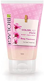 Biolage COLORLAST Deep Treatment Pack for Colored Hair (Vegan & Paraben Free) 1
