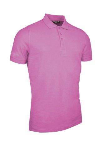 GlenmuirHerren Poloshirt Hot Pink