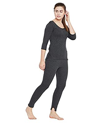 Neva Thermal Bottom for Women (OMS16- Anthra)