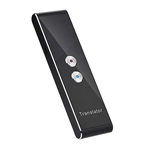 Traduttore vocale multilingue multilingue in tempo reale portatile Dispositivo di traduzione vocale / di testo Bluetooth 2.4G Supporto di interprete tascabile intelligente 40 Lingue e traduzione di fo