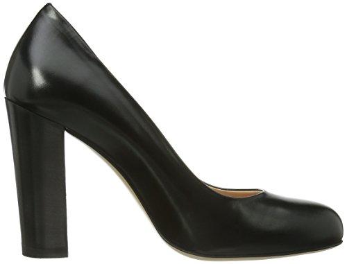 Evita Shoes geschlossen Damen Pumps Schwarz (Schwarz)
