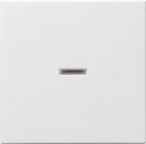 Gira Wippe für Kontrollschalter ST55 reinweiß-seidenmatt, 029027 (Wippe Licht)