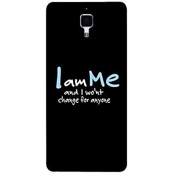 Casotec Quotes Design Hard Back Case Cover for Xiaomi Mi 4