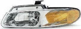 96-99, DODGE GRAND CARAVAN-LH VAN DRIVER (laterale), senza Quad lampade (1996 96 1997 97 1998 98 1999) 99 20-3164-88 4857041AB by Parts