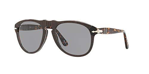 Ray-Ban Herren 0PO0649 Sonnenbrille, Schwarz (P. Galles Grey), 52.0