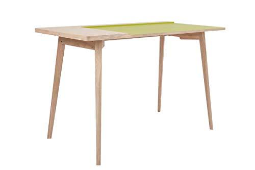 Kayoom Schreibtisch Addison II Esche/Grün -