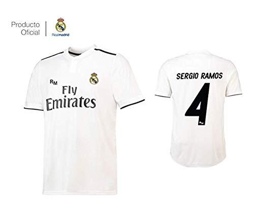 513634b143 Camiseta 1ª Equipación Real Madrid 2018-2019 - Replica Oficial con Licencia  -.