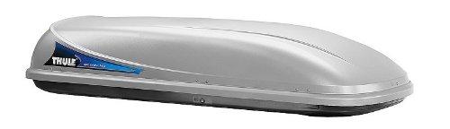 Thule Dachbox Ocean 780 silber 430 Liter 664003 Skibox mit U-Bügel Befestigungssystem
