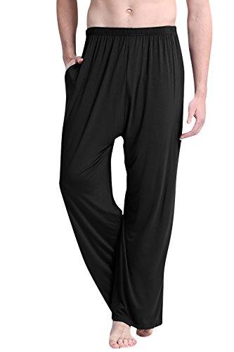 Dolamen Hombre Pantalones de pijama Modal Algodón