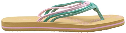 O'Neill Fg Ditsy Flip Flops, Chaussures de Plage et Piscine Fille Rose (Black Out)