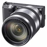 Galleria fotografica A Sony Nex-5H-Fotocamera digitale, Sistema senza-Specchio 14,2 Mpix Oss-Lente Sony 18-220 Mm-Zoom ottico: 11 Memory...