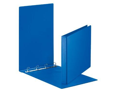 Esselte Präsentations-Ringbuch Format A3 25-mm-Rücken D-Ring-Mechanik blau (Blau D Ring Binder)