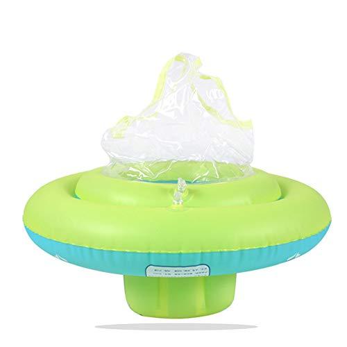 WANGYANNING Babyschwimmsitz, aufblasbarer Unterarm-Schwimmring für Babys, Schwimmring für 6 Monate - 6 Jahre alt, blau,L