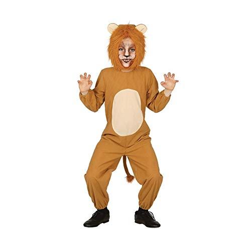 Löwe - Kostüm für Kinder Gr. 98 - 146, Größe:110/116 (Löwe Kostüm Kind)