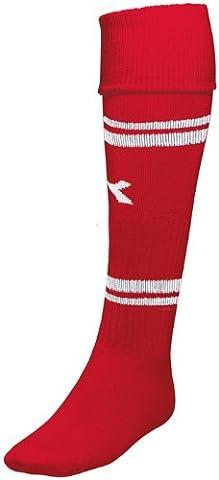 Diadora Treviso Soccer Socks, Large, Red