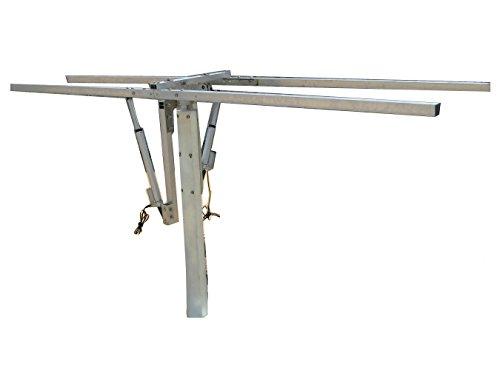 eco-worthy Dual-Axis Solar komplett Tracking System mit Einbausätze Do mehr Effizienz Solar Tracker Ständer - 20 Dual-achse