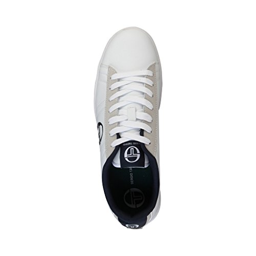 Chaussures baskets homme noires et blanches Tacchini NOWLOW_ST628610_03_Black-offwhite Noir