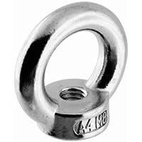 Edelstahl Ringmutter M8, ähnlich DIN 582, A4 AISI 316