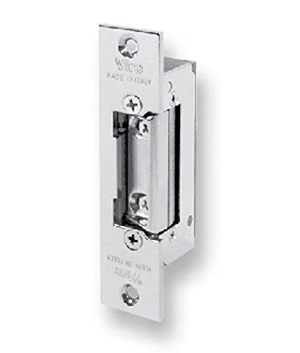 Elektrische Schläge 7755 Fail sicher mit Einzelimpuls, Kurze Frontplatte reversibel symmetrisch, Neue elektrische Schläge für Zapfentürschlösser, 310g, Electric Strike 7755 -